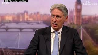 Philip Hammond to quit government if Boris Johnson becomes PM