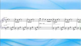 Without You - David Guetta feat. Usher (Free Sheet Music)