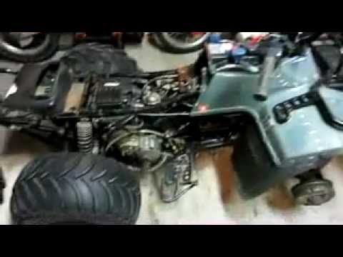 walk around of my project 96 Suzuki king quad 250 4x4  YouTube