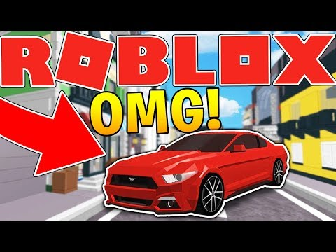 FORD MUSTANG SUPERCAR IN ROBLOX