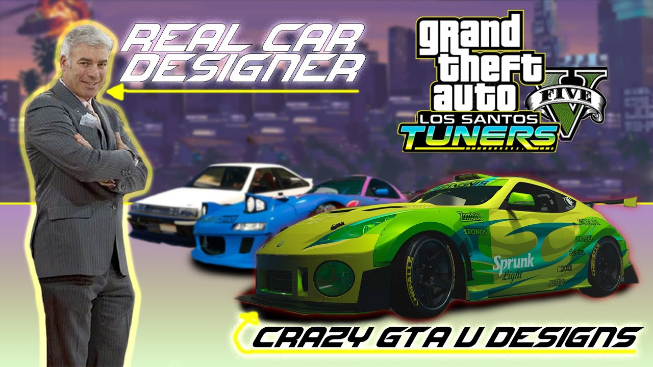 World Renowned Car Designer REACTS To GTA V Los Santos Tuners Pack & More!!