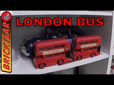 BrickTsar Collection Update #3   Looking For London Bus