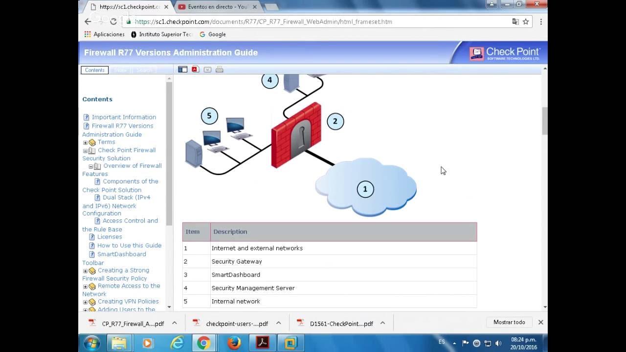 Instalación y Configuración Básica del Checkpoint R77 30