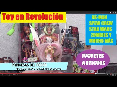 TOY EN REVOLUCIÓN JUGUETES ANTIGUOS CONVENCIÓN MEXICO VINTAGE TOY BOOTLEG STAR WARS ZOMBIE