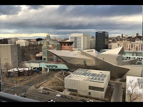 Roof top view from Denver's Museum Residences