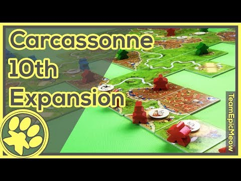 Carcassonne Under the Big Top Game Play [3Player]