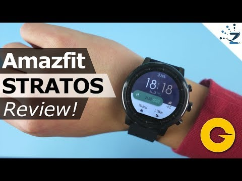 Xiaomi Huami Amazfit Stratos Review: Awesome Smartwatch... but I hate it 😢