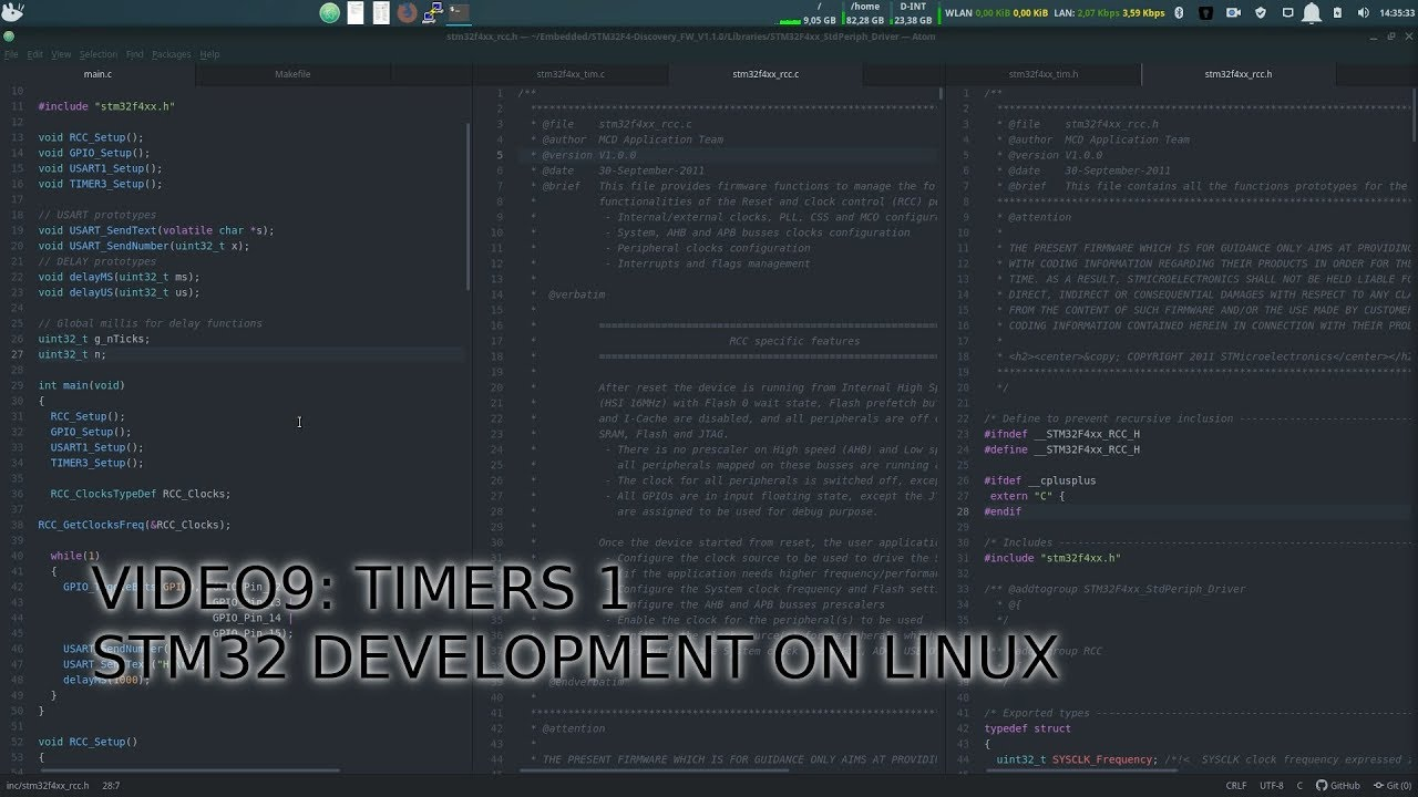 Timers and delay function | STM32 developlment on Linux