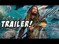 Aquaman Trailer Dropping This Week! Geoff Johns Leaves DC