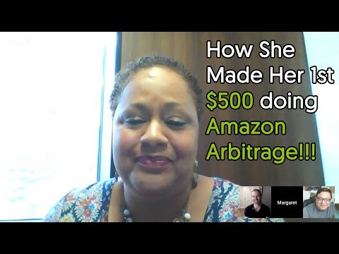 Amazon Arbitrage for Beginners + Live Interview How Margaret made her first $500!