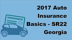 2017 Auto Insurance Basics   SR22 Georgia Insurance To Reinstate Your Suspended Drivers License