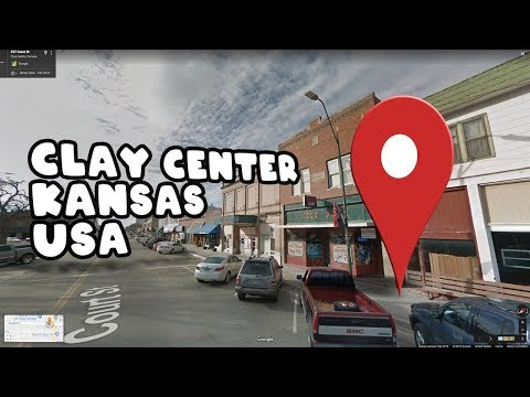 Take a virtual tour of Clay Center, Kansas