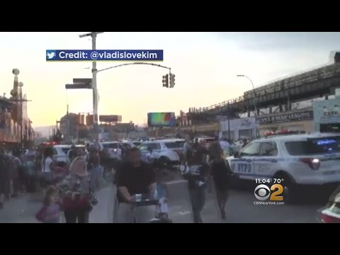 Several Injured As False Reports Of Shots Fired Spark Chaos Near Coney Island Amusement Park