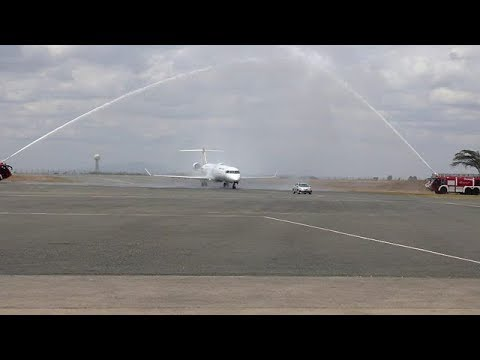 Uganda Airlines' grand entry in the Peaceful Mogadishu - Somalia, launches direct flights