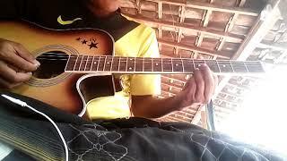 Gitar melodi ples genjrengan lagu Kelangan  #Roisul Aula