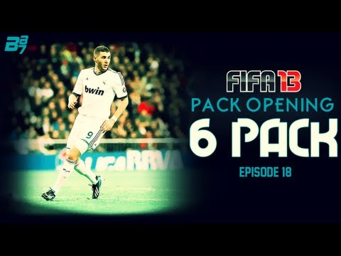 FIFA 13 Ultimate Team | Pack Opening | The 6 Pack EP18 (IF Benzema Edition)