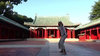 晨練/台南 Morning practice in Tainan, Taiwan