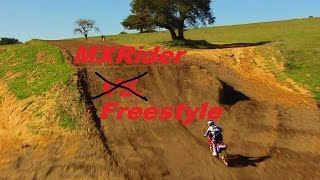 MX Rider: Freestyle Over A Shark Tank