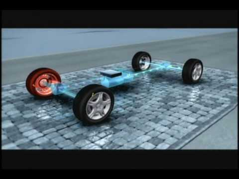 Mercedes Benz 4Matic Animation.