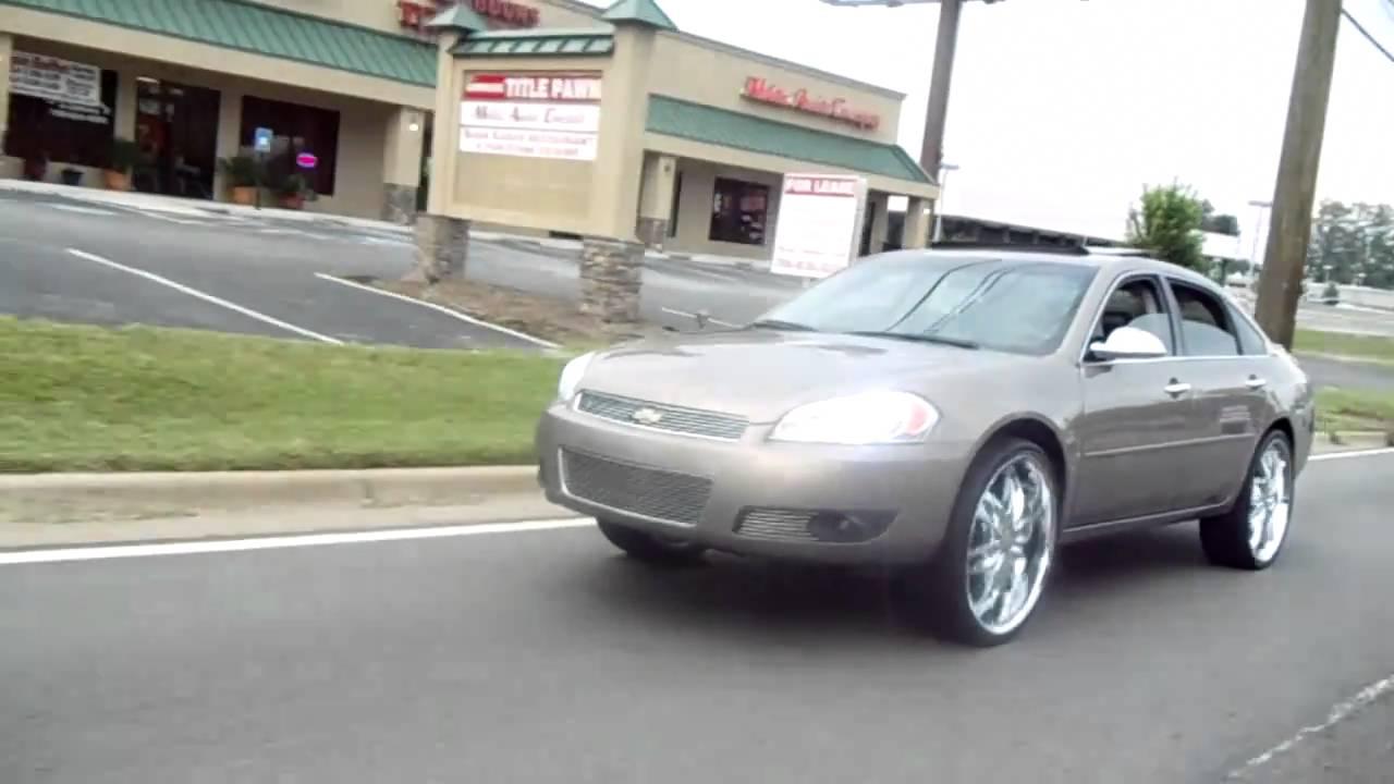 07 Impala Ltz On 24s And 05 Kandy Impala On 24 Dub Sploaters Youtube