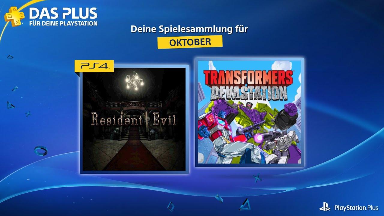 Playstation Plus Oktober 2021
