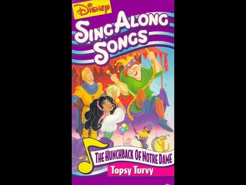 Opening To Disney's Sing-Along Songs:Topsy Turvy 1996 VHS