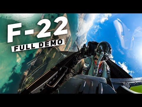 Full F-22 Demo: