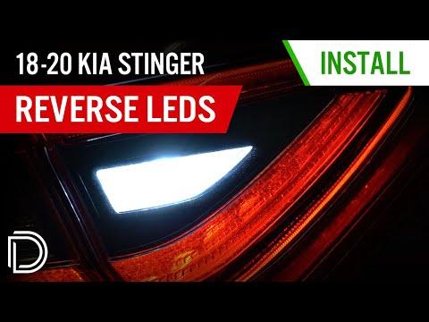 How to Install 2018-2020 Kia Stinger Reverse LEDs   Diode Dynamics