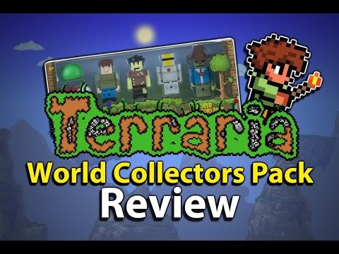 Another Toy Review: Terraria World Collectors Pack Toy Set Review