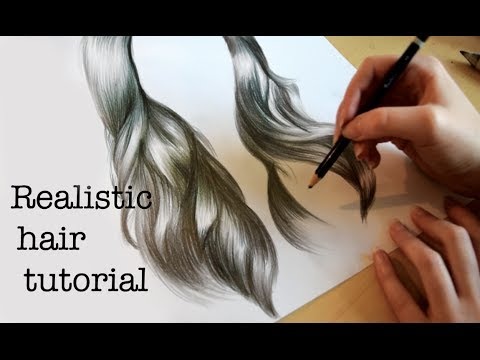 Emilys tutorials how to draw realistic hair