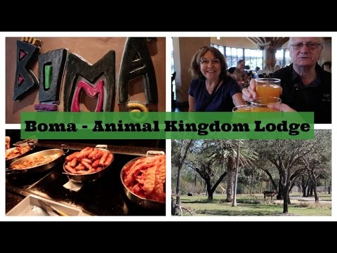 Breakfast at Boma - Flavors of Africa in Animal Kingdom Lodge   l    Disney CRP