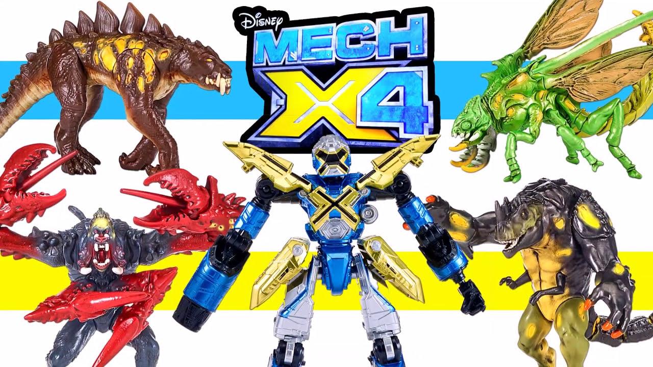 "Mech-X4 5/"" Robot with Plasma Axe Action Figure"