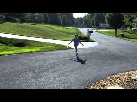 Running While Jumping Rope Won't Let You Overstride! - YouTube