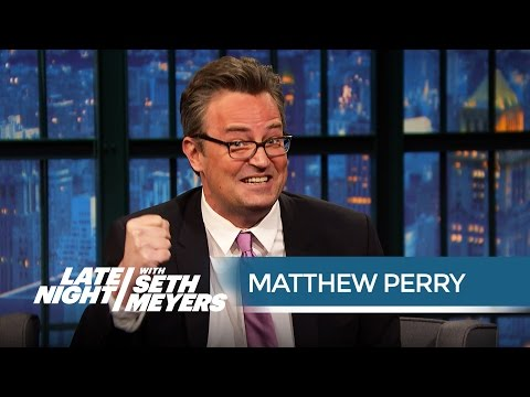 Matthew Perry Almost Turned Down Friends to Star on an Alien Baggage-Claim Show
