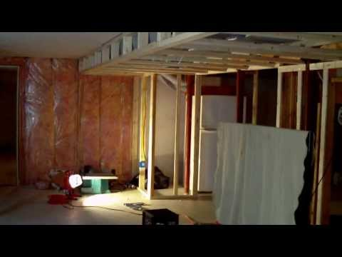 how to build a finished basement with ceiling soffit great ideas part