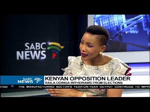 Sophie Mokoena on the latest in Kenya and Zimbabwe