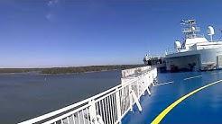 Helsinki to Teravemunde  Germany