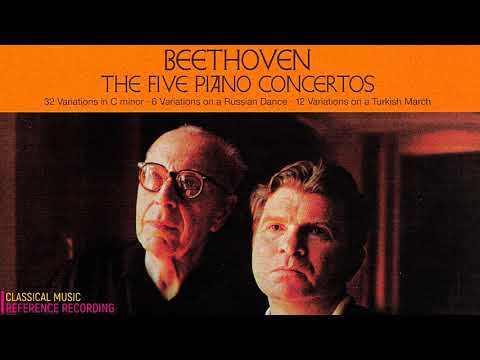 Beethoven - Piano Concertos No.1,2,3,4,5, Variations + Prese