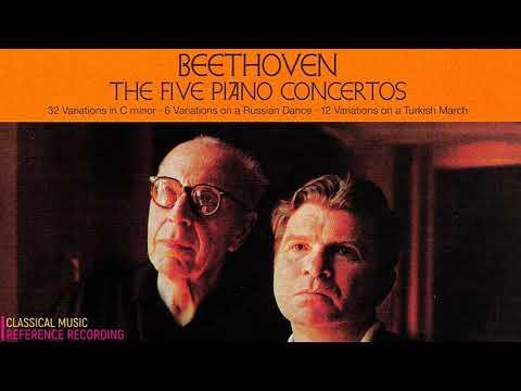 Beethoven - Piano Concertos No.1,2,3,4,5, Variations + Presentation (ref. rec: Emil Gilels / Szell)