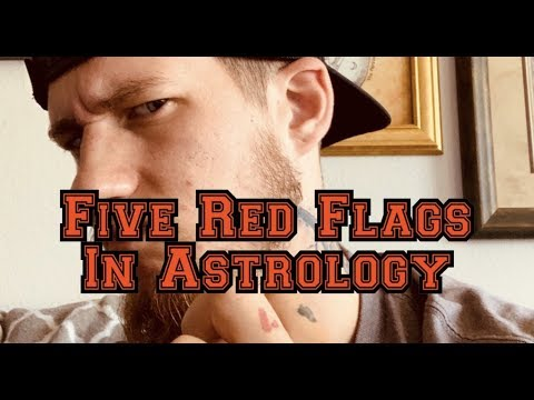 AT Astro // FIVE RED FLAGS TO LOOK FOR IN A NATAL CHART