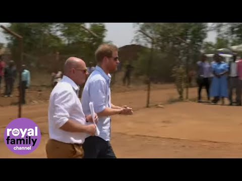 Duke of Sussex Makes Solo Visit to Health Clinic in Malawi
