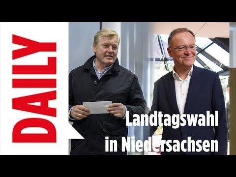 Zahlen, Stimmen und Analyse - Landtagswahl in Niedersachsen - BILD DAILY live Spezial 15.10.17