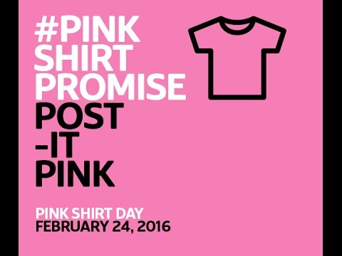 History Of Pink Shirt Day | Artee Shirt