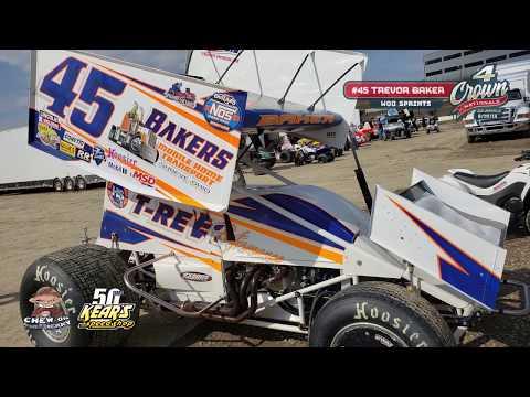 #45 Trevor Baker - World of Outlaws Sprint Car Series at Eldora Speedway 9-27-19