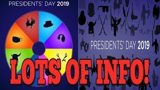 ROBLOX TELLING US ALL ITEMS FOR SALE? || ROBLOX PRESIDENTS DAY SALE 2019 BLOG POST