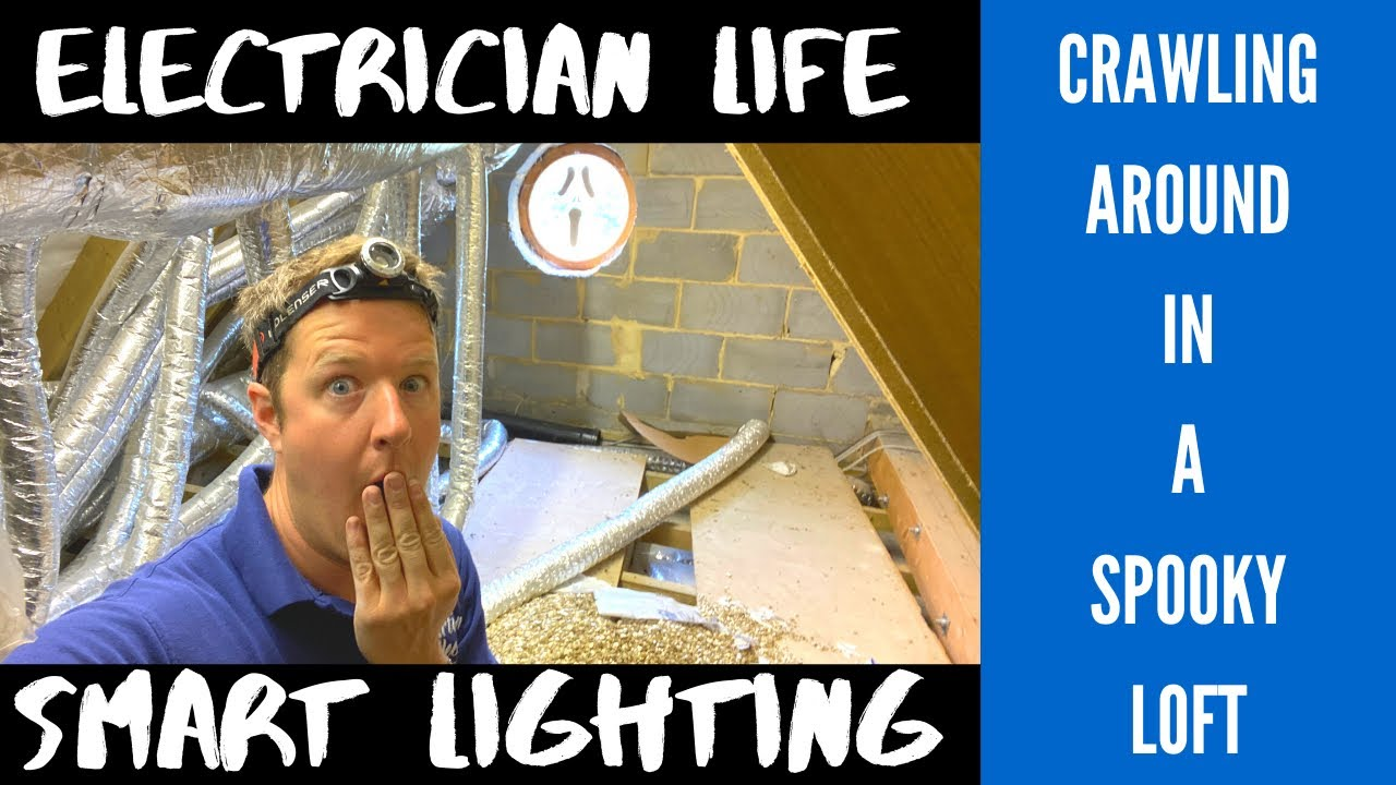 Electrician Life Installing Smart Lighting