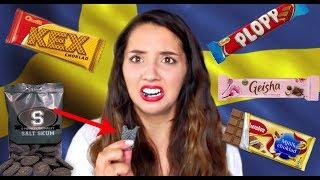 BRITISH GIRL TRIES SWEDISH CANDY (+ SALT SKUM) | ThoseRosieDays thumbnail