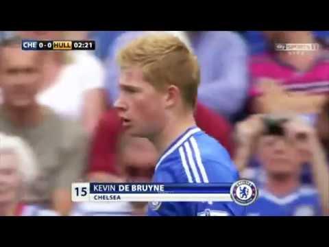Kevin De Bruyne vs Hull City Chelsea Debut 18 08 2013