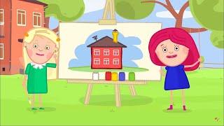 Развивающие мультики - Смарта - Дом Слоги - Песенки для детей