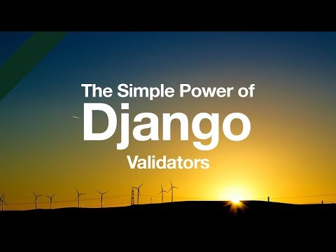 Simple Power of Django Validators // Python Django Tutorial // Form Validation // Model Validation